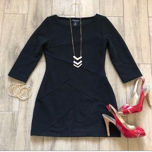 WHBM LBD Bandage Dress Mini Black Size XS Tunic